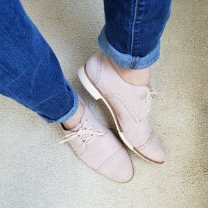 Cole Haan Lace Up Oxfords Flats Womens 9 Pink